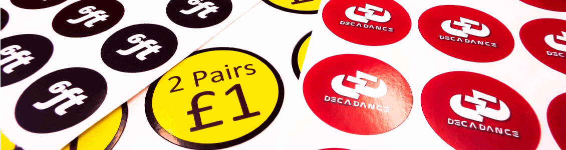 Same Day Round Sticker Printing